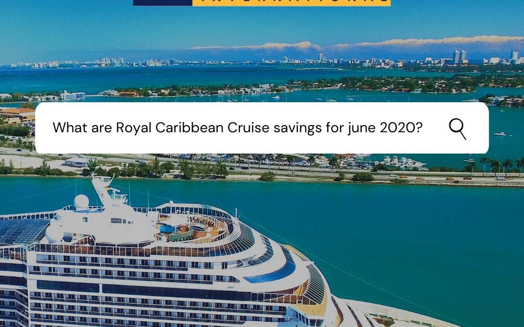 Let the Royal Caribbean Sea Set You Free