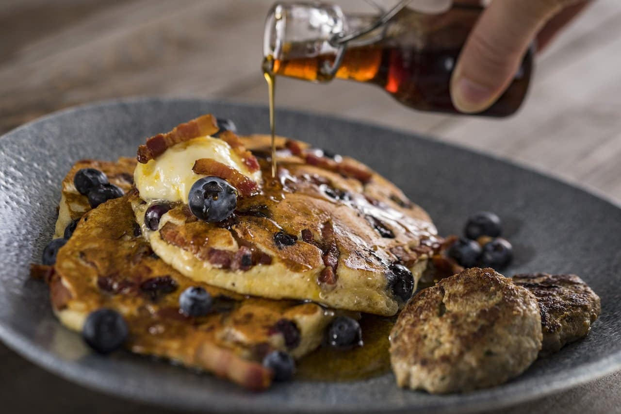 Disney Mother's Day Brunch Pancakes