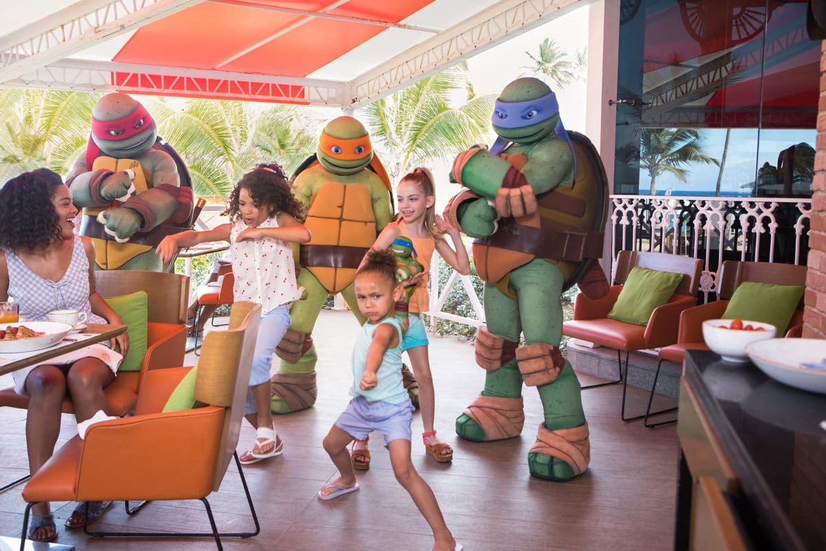 Ninja Turtles Character Breakfast
