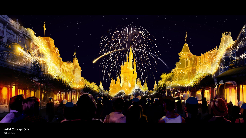 Walt Disney World Magic Transform the Night Sky