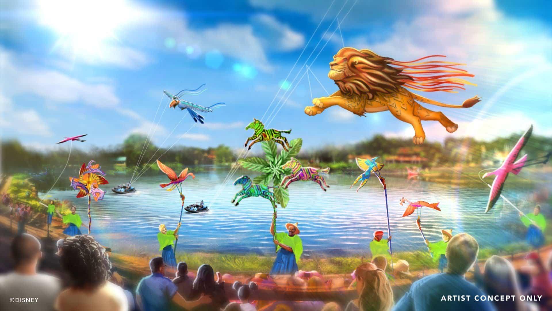 Walt Disney World Disney KiteTails